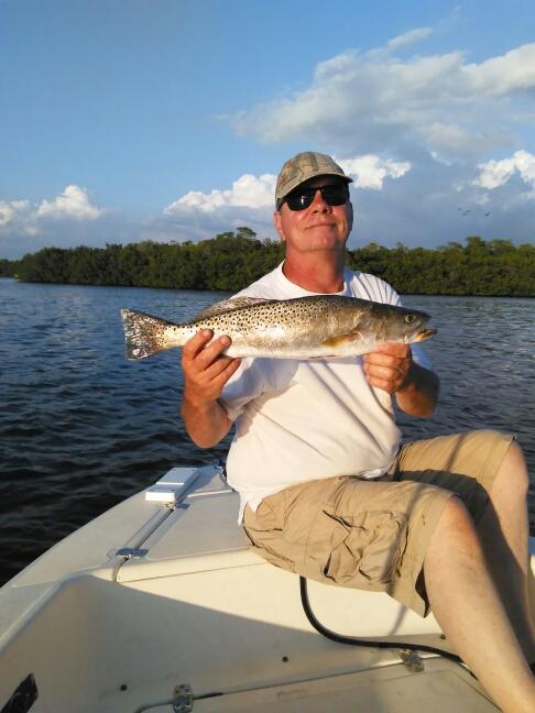 North branch estero river fl fishing reports map hot spots for North florida fishing report