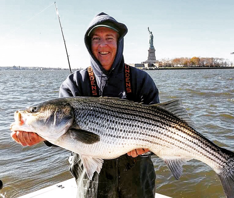 New york bight nj fishing reports map hot spots for Bunker up fishing