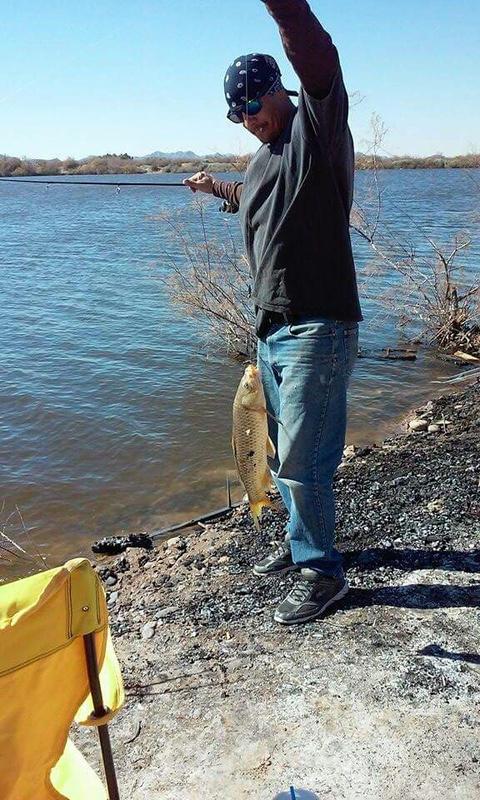 Hassayampa river az fishing reports map hot spots for Fishing spots in arizona