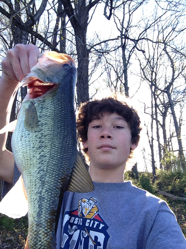 Lake needwood md fishing reports map hot spots for Fishing spots in maryland