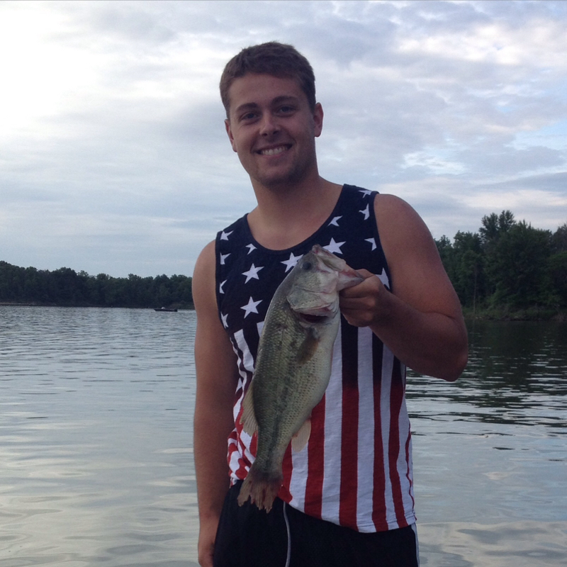 Delaware lake oh fishing reports map hot spots for Ohio fishing report