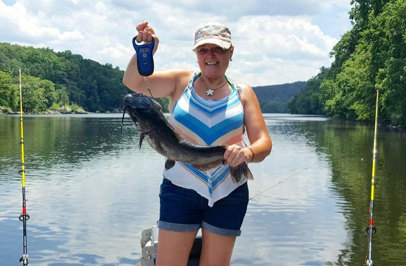 Badin lake nc fishing reports map hot spots for North carolina fishing report