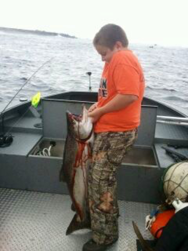 Pacific ocean oregon or fishing reports map hot spots for Oregon salmon fishing report