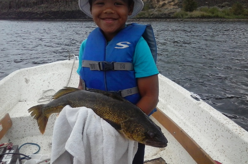 Columbia river wa fishing reports map hot spots for Columbia river fishing report