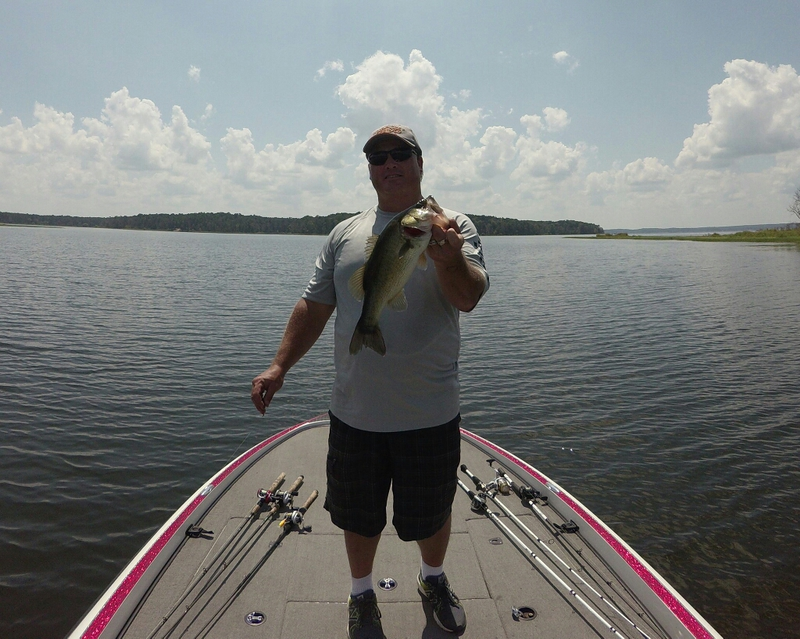 Sam rayburn reservoir tx fishing reports map hot spots for Fishing spots in texas