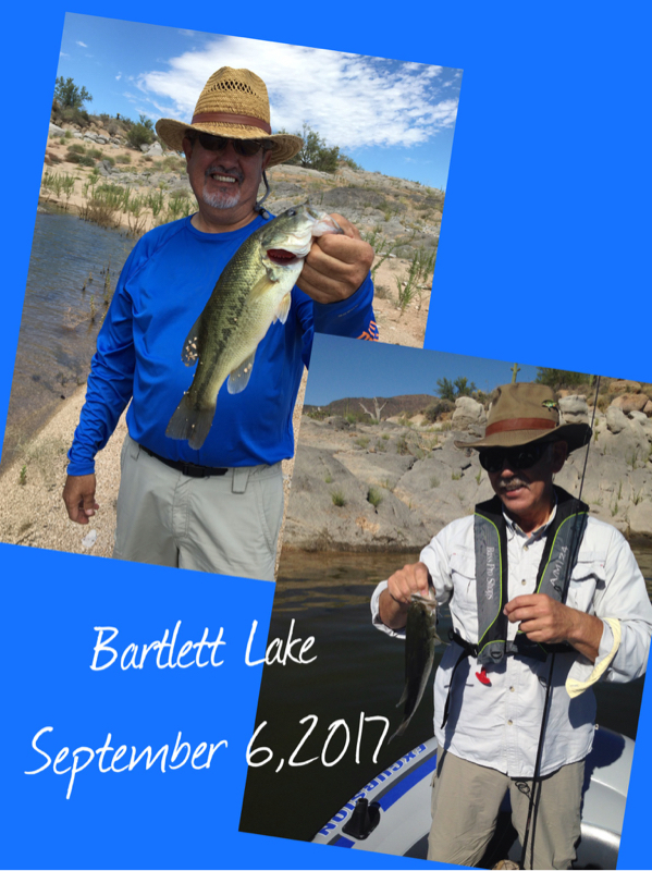 Bartlett lake az fishing reports map hot spots for Lopez lake fishing report